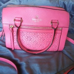 Kate Spade Crossbody Zip Top Satchel Purse Bag